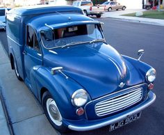 Morris Minor, Small Cars, Commercial Vehicle, Cars And Motorcycles, Cool Cars, Supreme, Classic Cars, British, Van