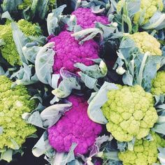 Colorful cauliflower #mindovermouth #healthy #eating #vegetables