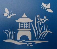 Pulpo Peces Pesca A4 Mylar reutilizable Plantilla Aerógrafo Pintura Arte