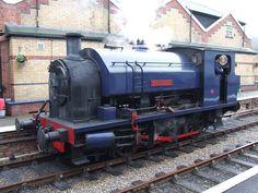 Lakeside & Haverthwaite Railway: Bagnall 0-6-0T 2682 Princess at Lakeside Station (21/09/2011) | Flickr - Photo Sharing!