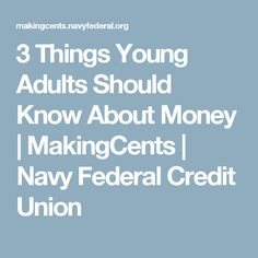 The 50155 rule article by fidelity on money management 3 things young adults should know about money makingcents navy federal credit union malvernweather Gallery