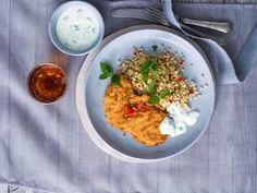 Wiener Schnitzel, Grains, Curry, Rice, Ethnic Recipes, Food, Bulgur, Recipes, Curries