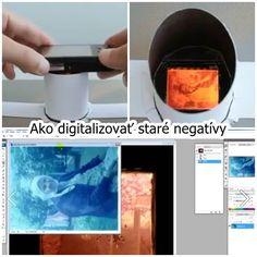 Skvelý spôsob, ako si doma digitalizovať staré negatívy