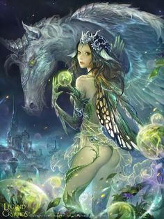 *+*Mystickal Faerie Folke*+*...Legend of the Cryptids... By Artist Zinnadu...