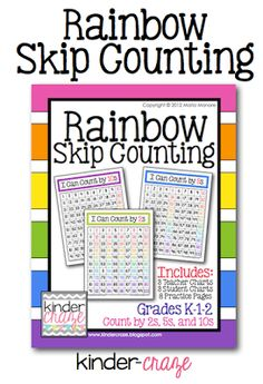 help students learn to skip count in very visual way