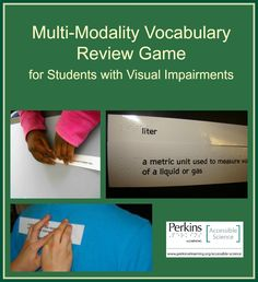Here's a fun multi-modality way to review science vocabulary!