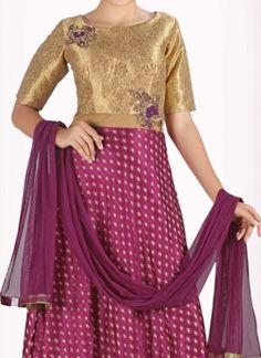 Tempting Art Silk Anarkali Suit