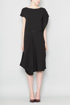 Maison Martin Margiela Sleeveless Basic Cocktail Dress (Black)