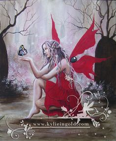 Celtic Fairy Art by Kylie Ingold Fairy Dust, Fairy Land, Fairy Tales, Fairy Paintings, Unicorns And Mermaids, Fairy Pictures, Love Fairy, Beautiful Fairies, Celtic Art