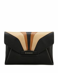 Antigona Large Envelope Clutch Bag, Multi Colors by Givenchy ~ Cynthia Reccord