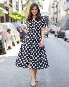 Short Sleeve Dresses, Dresses With Sleeves, Beautiful Dresses, Women's Fashion, Instagram, Polka Dot Dresses, Candy, Flower