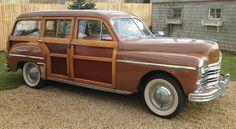 1949 Plymouth Woody Wagon