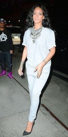 . Rihanna's Gorgeous Statement Piece Shop her look.