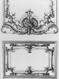 Ornamental panel, Hotel de Soubise