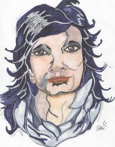 Self Portrait in Illustration