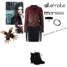 A fashion look from May 2017 featuring Diesel jackets, Journee Collection ankle booties and Hot Topic necklaces. Browse and shop related looks.