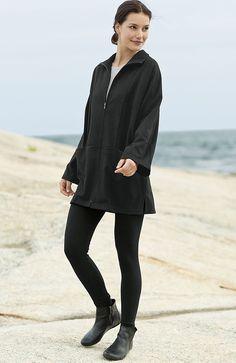 Pure Jill poncho-style jacket