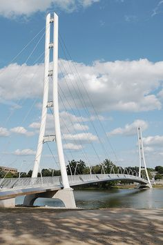 Ron Venderly Family Bridge~ Fort Wayne, Indiana