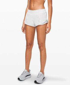 Max out your stride in these shorts designed with extra room to let you move freely. How To Start Running, How To Run Faster, How To Run Longer, Speed Workout, Workout Gear, Workout Shorts, Rooms To Let, Lululemon Shorts, Lululemon Athletica