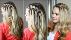 This pretty swirled knot braid is so easy you won't believe it! Inspired by CinthiaTruong, this is a great braid for Spring and Summer! Please SUBSCRIBE to m...
