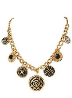 Morgan's Medallion Necklace