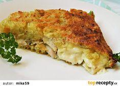 Lasagna, Quiche, Good Food, Cooking Recipes, Potatoes, Pasta, Bread, Breakfast, Ethnic Recipes