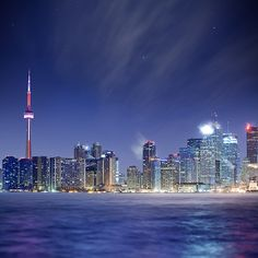 Toronto, Canada The City Over The Water (via Mute*)