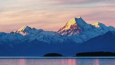 Lara Miller snapped this shot on her last night in New Zealand, while watching the sunset over Lake Pukaki and Mt Cook.