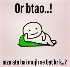 Aata hi hoga😂 Best Friend Quotes Funny, Funny Attitude Quotes, Cute Funny Quotes, Besties Quotes, Funny School Jokes, Some Funny Jokes, Sarcastic Quotes Witty, Funny Pictures For Facebook, Real Friendship Quotes