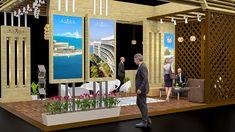 Rixos Hotels ( Concept Exhibition Stall Design ) on Behance Exhibition Stall Design, Hotel Concept, Ikea Cabinets, Adobe, Hotels, Behance, Photoshop, Graphic Design, Architecture