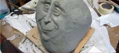 Make a Ferrocement Stone Face – Ultimate Paper Mache