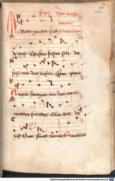 Mönch von Salzburg. Oswald von Wolkenstein: Geistliche Lieder mit Melodien Bayern/Österreich, erste Hälfte 15. Jh. Cgm 715  Folio 66