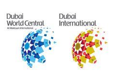 Dubai Airports by Jonathon Jones, via Behance