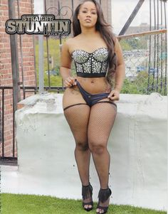 Jhonni Blaze Got Thick Thighs And A Fat Cake [Pics] | Forbez DVD