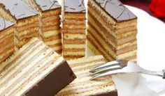 10 vajec, 135 g kryštálového cukru, 200 g hladkej múky... Czech Recipes, Ethnic Recipes, Russian Recipes, Czech Desserts, Cake Recept, European Dishes, Chocolate Truffles, Sweet Recipes, Cheesecake