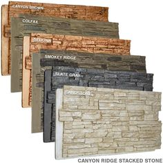 Faux Stone Walls, Faux Stone Sheets, Faux Stone Fireplaces, Faux Stone Siding, Exterior Siding, Stone Veneer Exterior, Exterior Wall Design, Stone Exterior Houses, Casa Top