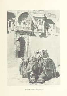 """Titel   Rajasthan from """"From the Black Sea through Persia and India…"""
