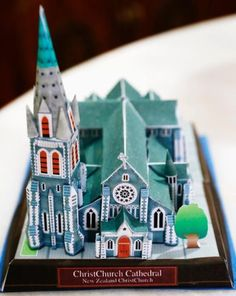 PAPERMAU: Christ Church Cathedral Paper Model - by Kanekawa & Nakamura