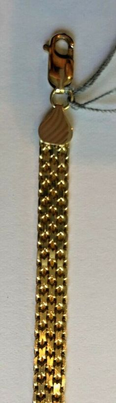 """7"""" 14k yellow gold mesh link bracelet #GoldcoreJewelers #Mesh 14k Bracelet, Mesh Bracelet, Gold Rope Chains, Gold Hoops, Link Bracelets, Gold Necklace, Jewels, Personalized Items, Yellow"""