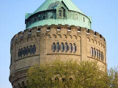 Münster in Westfalen - Wasserturm im Geistviertel #Muenster