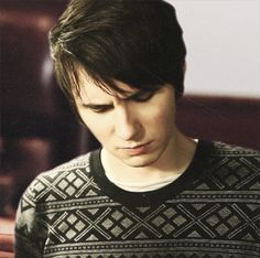 Imagine: Dan sitting at the end of your hospital bed, making this face. Tears streaming down his cheeks.