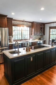 Ladue News shares the story of a Mosby Building Arts kitchen remodel.