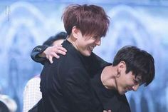 Jungkook and Yugyeom have always been friends, but these sweet interactions show just how close they really are! Yugyeom Jungkook, Bts E Got7, Kim Yugyeom, Taehyung, Jeon Jeongguk, K Pop, Wattpad, Trauma, Eyes Closed