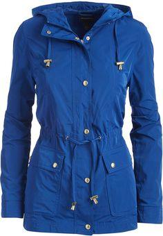 cafc8d376 Indigo Hooded Jacket Hooded Jacket, Jackets For Women, Indigo, Raincoat,  Hoods,