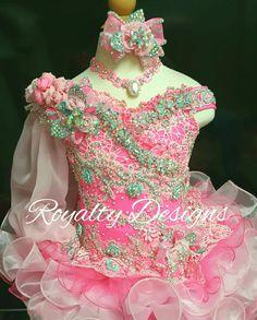 Royalty Designs Custom made pageant attire. Www.royaltydesigns.net  #RoyaltyDesigns #toddlersandtiaras #childrensbeautypageantdresses #childrensbeautypageants