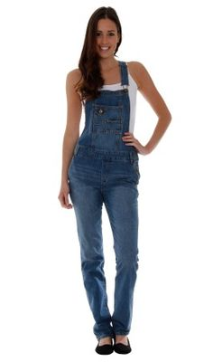 0c0897335de Ladies  Stonewash Denim Dungarees. Classic dungarees for women.  overalls  dungarees  Denim