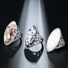 Kinel Luxury Colorful Shells Ring For Women Dazzle Artificial Coral Accessories Vintage Silver Color Big Oval Rings 2018 New Wedding Rings Vintage, Vintage Rings, Vintage Silver, Coral Accessories, Vintage Accessories, Artificial Coral, Jewelry Closet, White Opal Ring, Gold Rings Jewelry