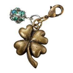 Four Leaf Clover Charm - Gold