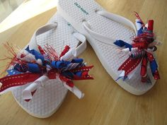Happy 4th of July - cant wait to put these on for the celebration!