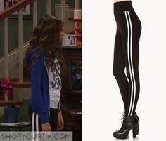 K.C. Undercover: Season 1 Episode 9 K.C.'s Stripe down Leggings